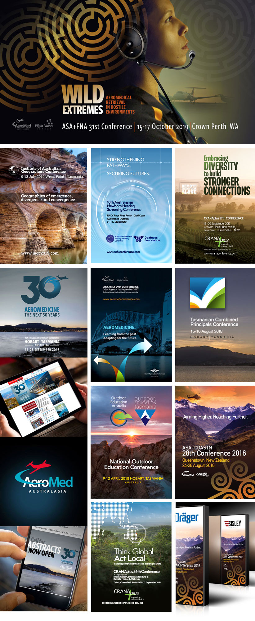 Brand work completed for Kate Smith and Conference Design